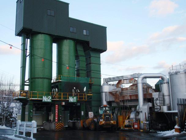 アスファルト再生プラント 豊平・南工場